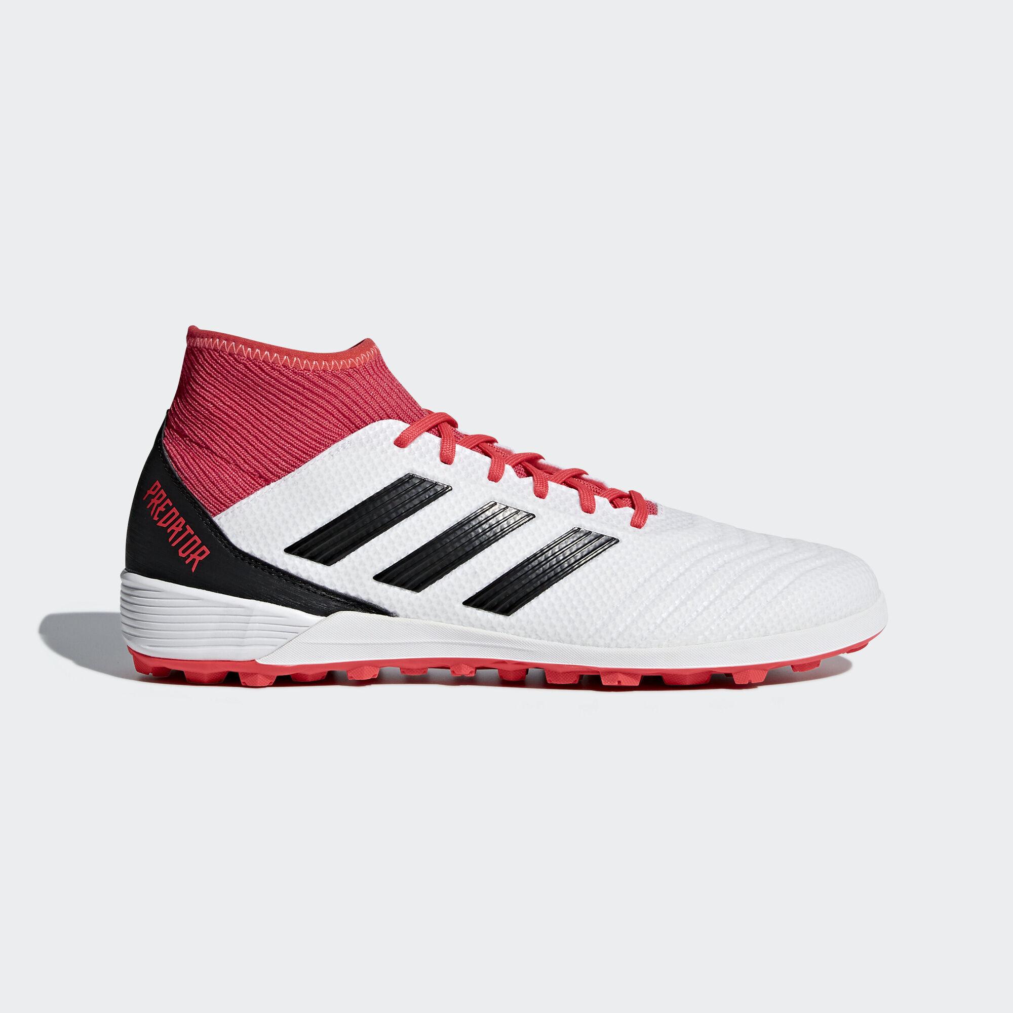 adidas - Zapatilla de fútbol Predator Tango 18.3 moqueta Ftwr White/Core  Black/Real. Hombre Football