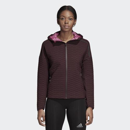 adidas - adidas Z.N.E. Winter Run Jacket Night Red / Real Magenta CY5509