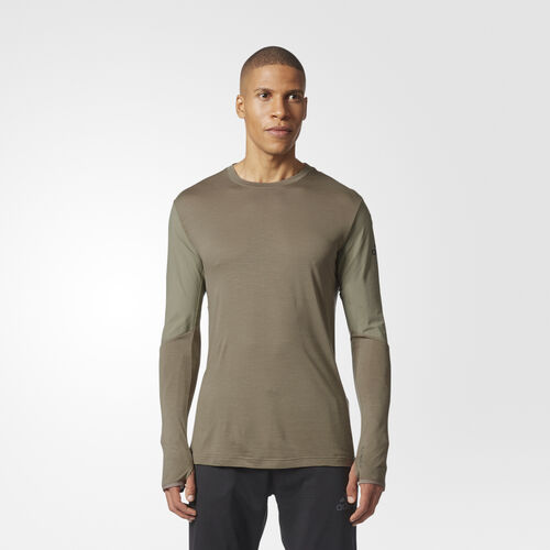 adidas - Climaheat Workout Top Trace Cargo CD8813