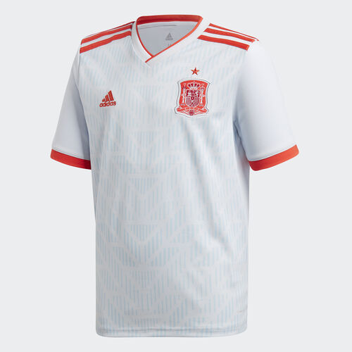 adidas - Spain Away Jersey White/Halo Blue/Bright Red BR2694