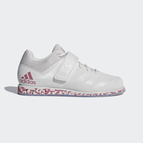 adidas - Powerlift.3.1 Shoes Grey One / Trace Maroon / Grey One AC7470
