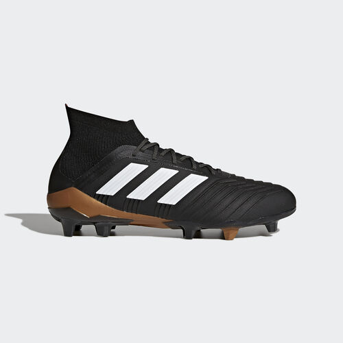 adidas - Predator 18.1 Firm Ground Boots Core Black/Ftwr White/Solar Red BB6354