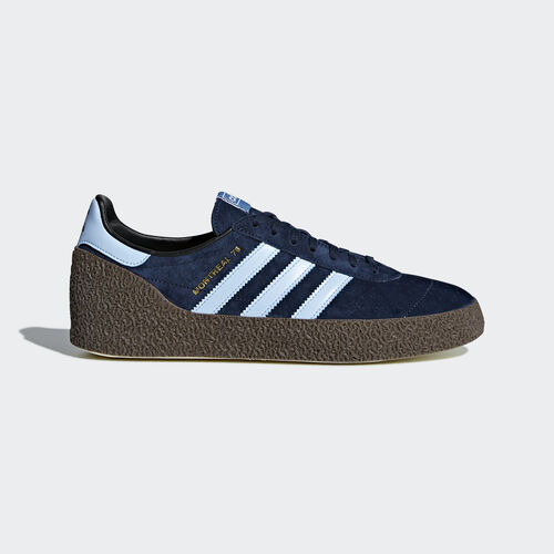 adidas - Montreal '76 Shoes Collegiate Navy/Clear Sky/Gold Metallic CQ2175