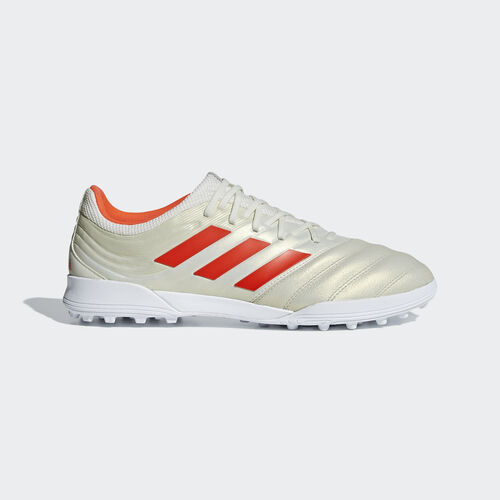 adidas - Copa 19.3 Turf Boots Off White / Solar Red / Ftwr White BC0558