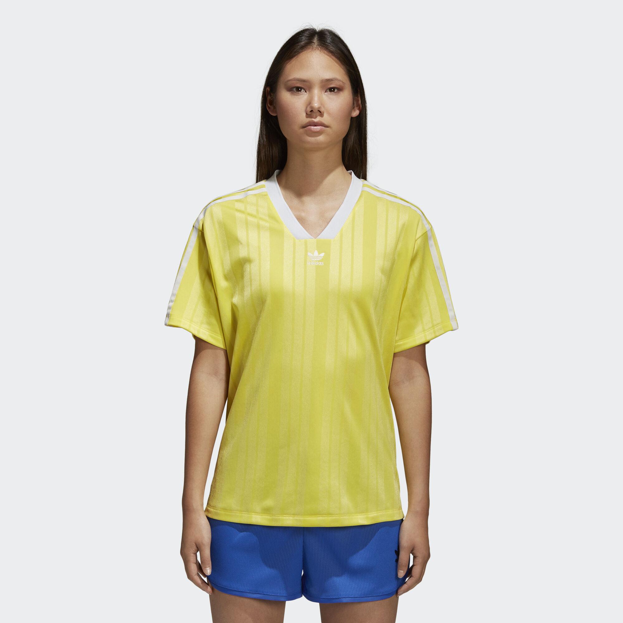 adidas - Fashion League Tee Prime Yellow CE5504. Women Originals ac240bd58ae8b