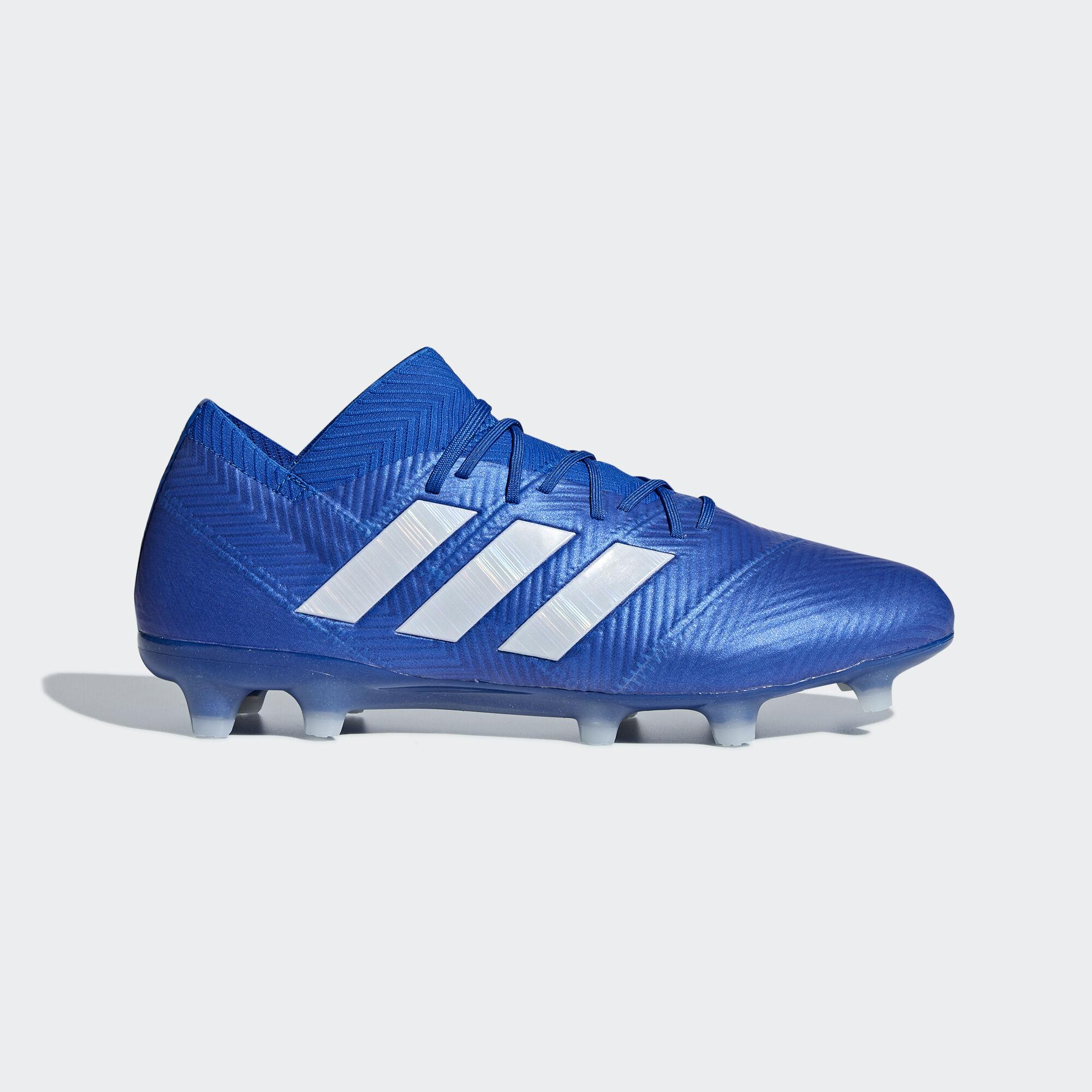 adidas - Nemeziz 18.1 Firm Ground Boots Football Blue   Ftwr White   Football  Blue DB2080 6af01ea21156