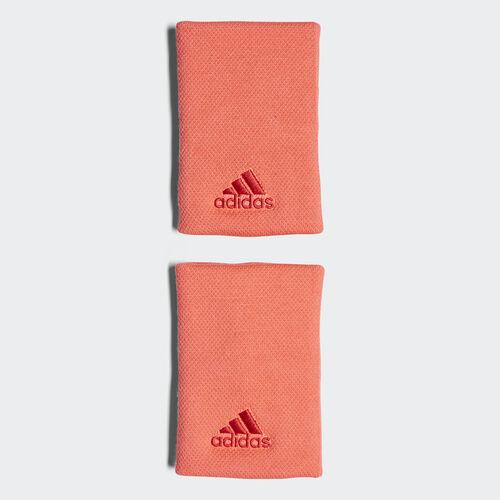 adidas - Tennis Wristband Large Flash Red / Scarlet DJ0927