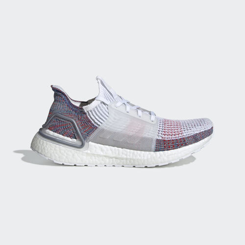 adidas - Ultraboost 19 Shoes Ftwr White / Crystal White / Blue B75877