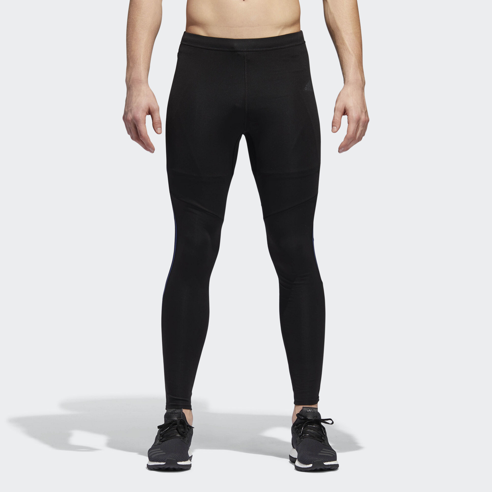 adidas - Response Long Tights Black/Noble Indigo CF6248