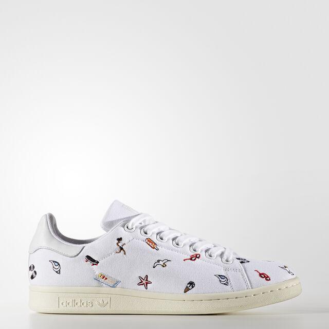 adidas - Stan Smith Shoes Footwear White/Footwear White/Off White BZ0392