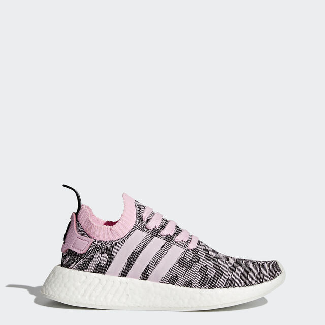 adidas - NMD R2 Primeknit Shoes Wonder Pink Wonder Pink Core Black BY9521 1f19b9991