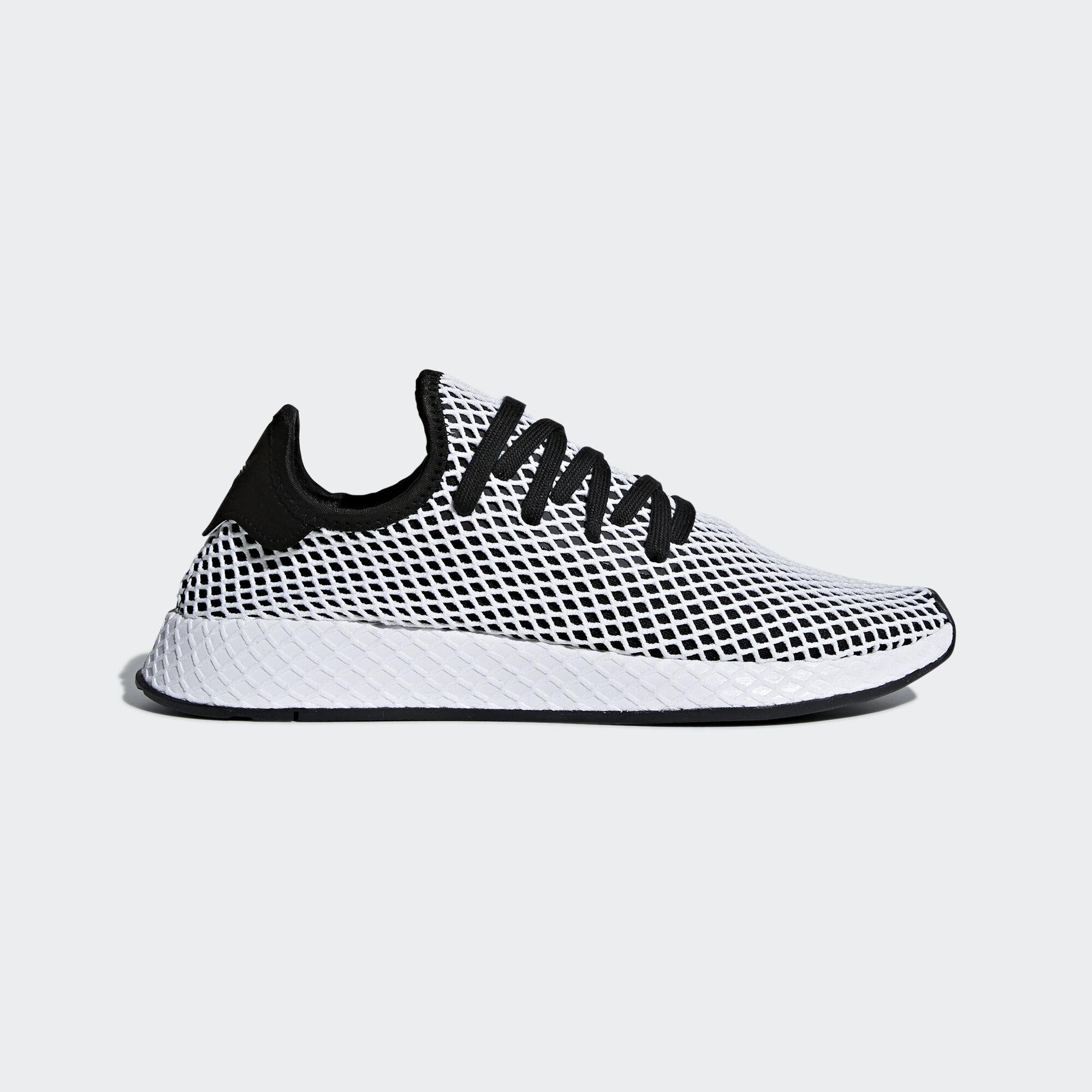 designer fashion 5cf7f 42cc2 ... adidas - Deerupt Runner Shoes Core BlackCore BlackFtwr White CQ2626 ...