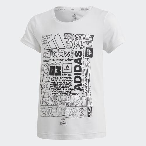 adidas - Iconic Tee White / Black DV2769