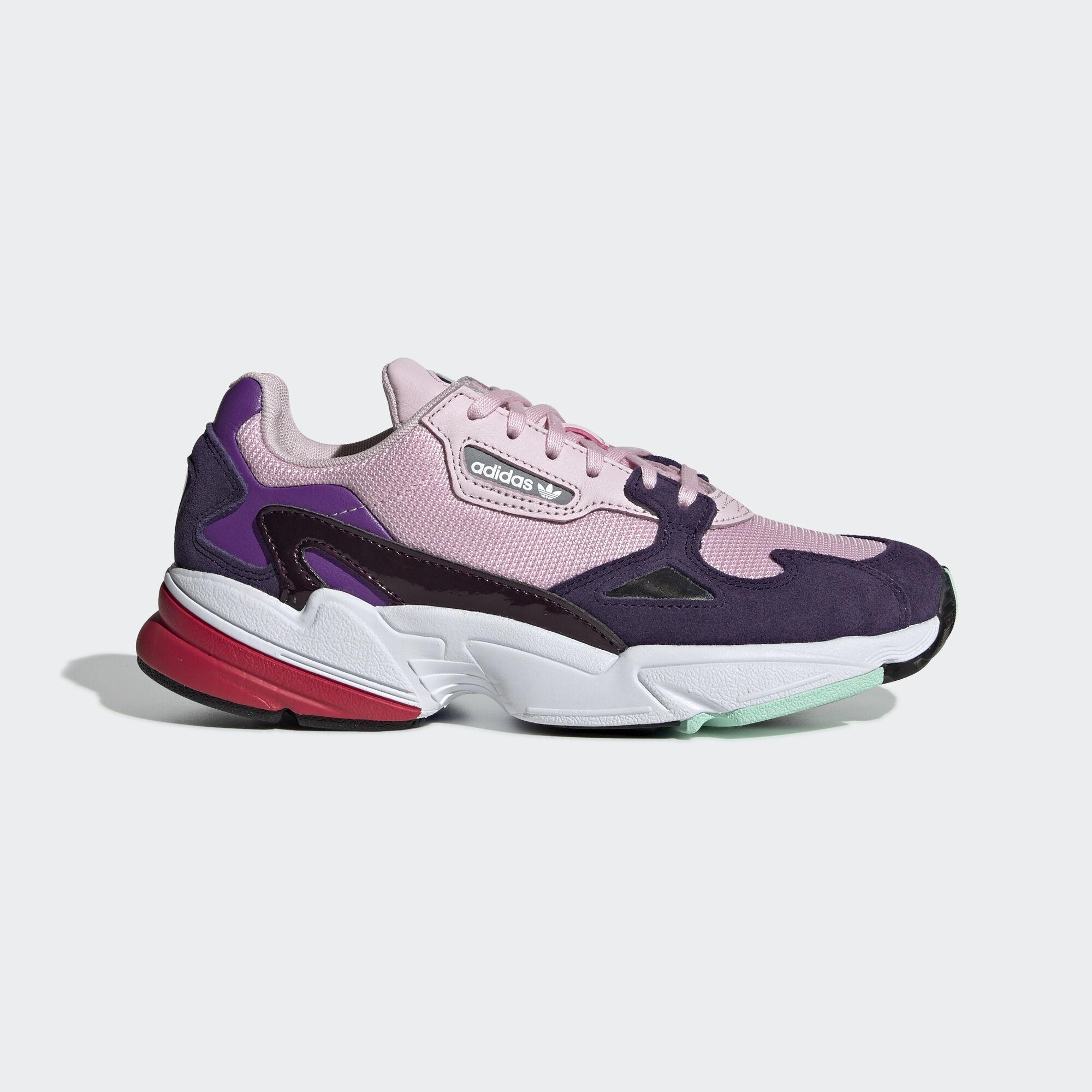 best service 6898e fcff4 adidas - Falcon Shoes Clear Pink  Clear Pink  Legend Purple BD7825. Women  Originals