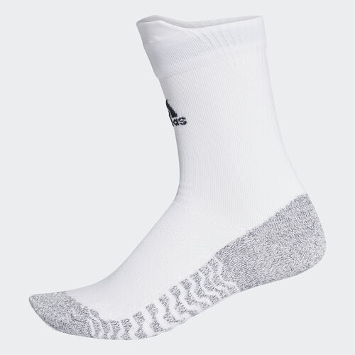 adidas - Alphaskin Traxion Ultralight Crew Socks White/Black CG2656