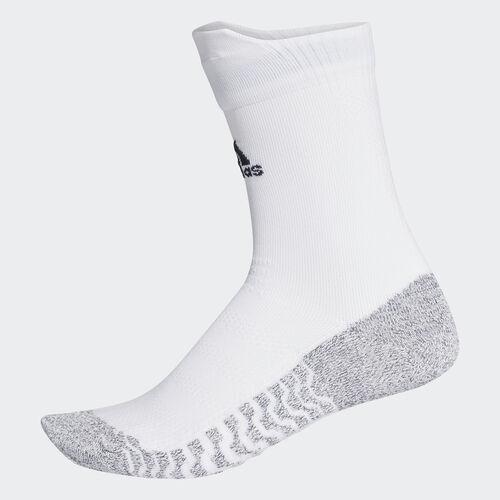 adidas - Alphaskin Traxion Ultralight Crew Socks White/Black CG2656
