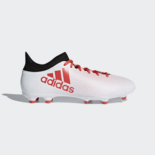 adidas - X 17.3 Firm Ground Boots Ftwr White/Real Coral/Core Black CP9192
