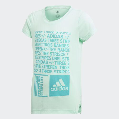 adidas - Training Graphic Tee Clear Mint / Hi-Res Aqua DJ1093