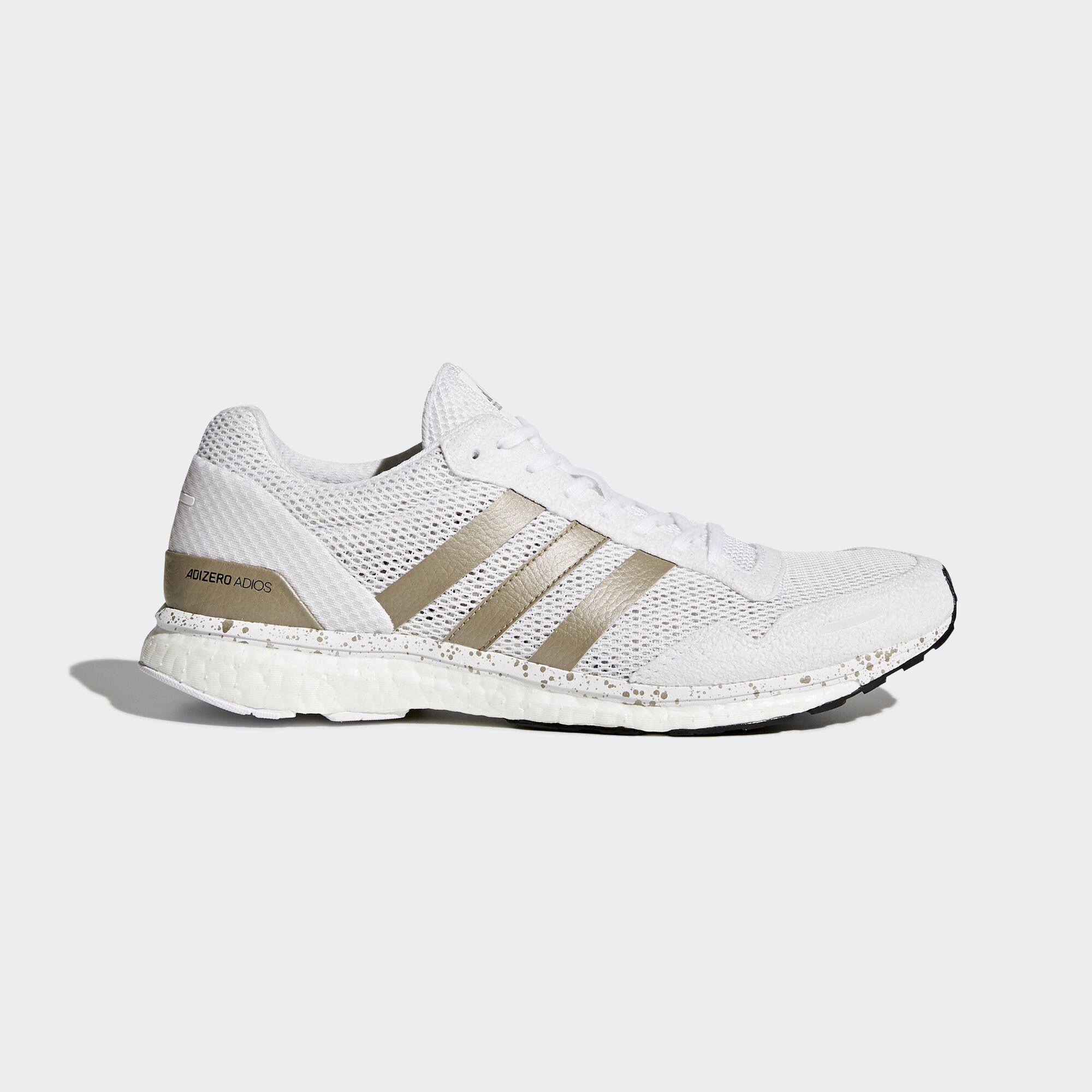 Adidas adizero Adios 3 Zapatos Adidas blancos Asia / Oriente Medio