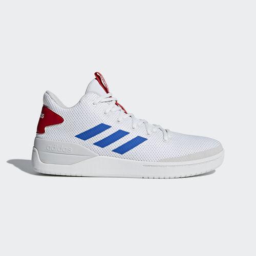 adidas - B-Ball 80s Shoes Ftwr White / Blue / Scarlet B44835