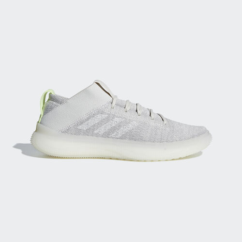 adidas - Pureboost Trainer Shoes Raw White / Ftwr White / Hi-Res Yellow BB7219