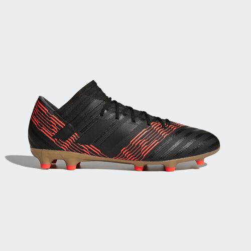 adidas - Nemeziz 17.3 Firm Ground Boots Core Black/Core Black/Solar Red CP8985