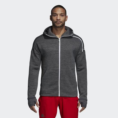 adidas - adidas Z.N.E. Hoodie zne htr/drk grey htr DM7513