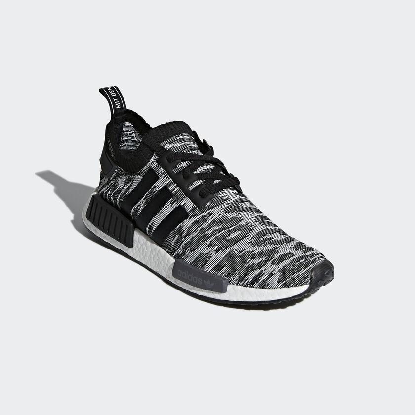 adidas sapatos nmd r1 primeknit cinzento adidas mlt. Black Bedroom Furniture Sets. Home Design Ideas