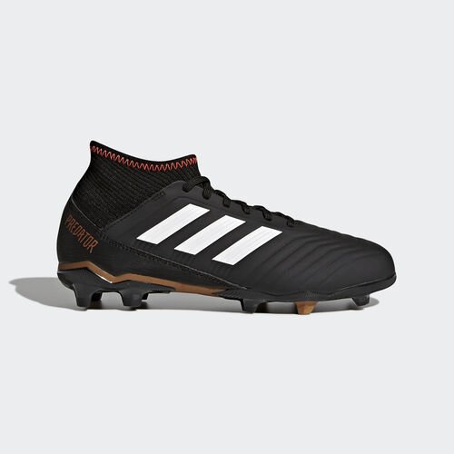adidas - Predator 18.3 Firm Ground Boots Core Black/Ftwr White/Solar Red CP9010