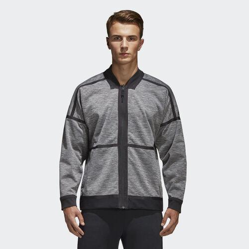 adidas - adidas Z.N.E. Reversible Jacket Grey/Storm Heather/Medium Grey Heather CF0652