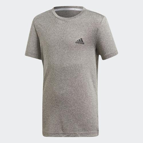 adidas - Textured Tee Grey /  Grey One  /  Black DV1374