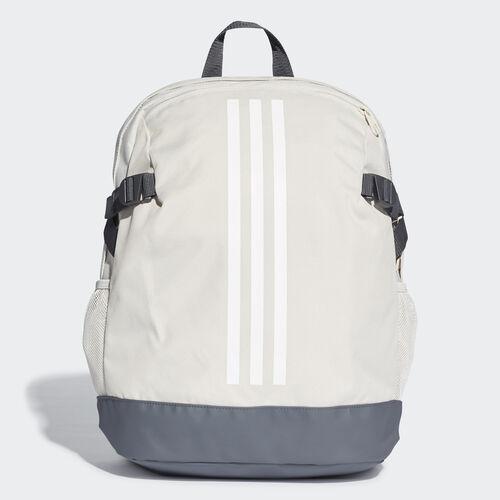 adidas - 3-Stripes Power Backpack Medium Raw White / White / White DU2009