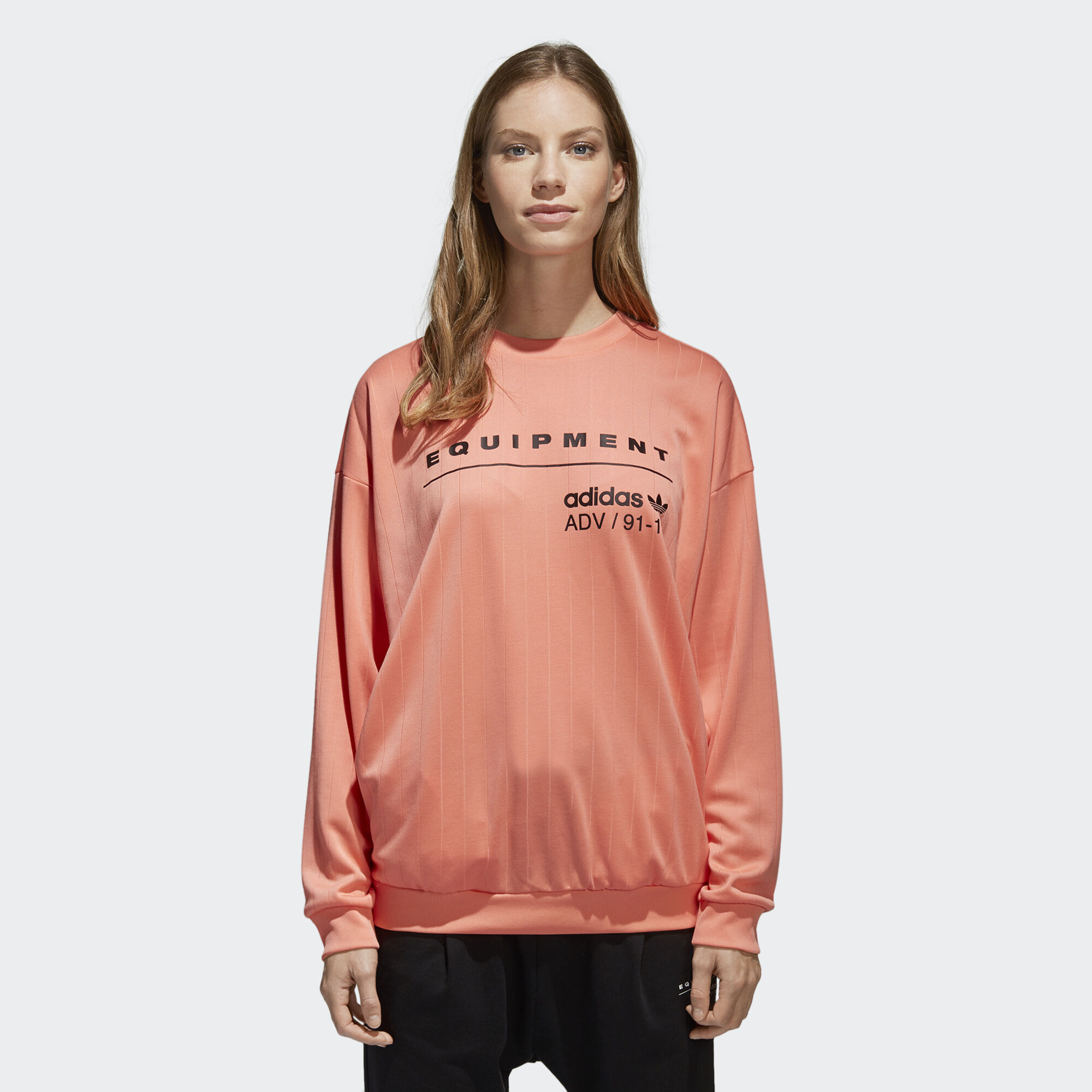 Adidas Eqt Sweatshirt Orange Adidas Europe Africa