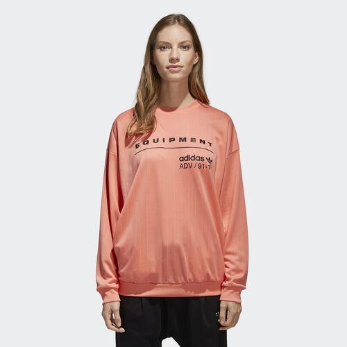 adidas - EQT Sweatshirt Chalk Coral CD6877