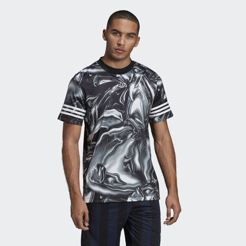 adidas - Melted Marble Jersey Black DU8543