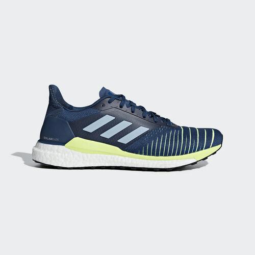 adidas - Solar Glide Shoes Legend Marine / Ash Grey / Hi-Res Yellow D97436