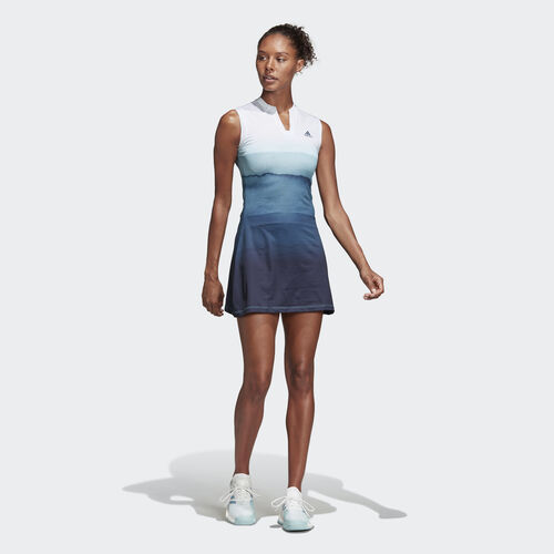 adidas - Parley Dress Easy Blue / White DP0267