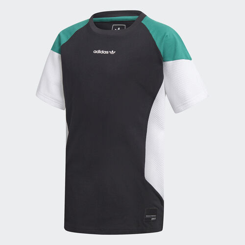 adidas - Camiseta EQT Black / White / Sub Green D98884