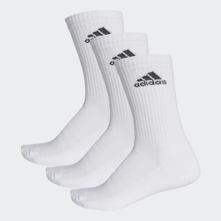 3-Stripes Performance Crew Çorap White / White / Black AA2297