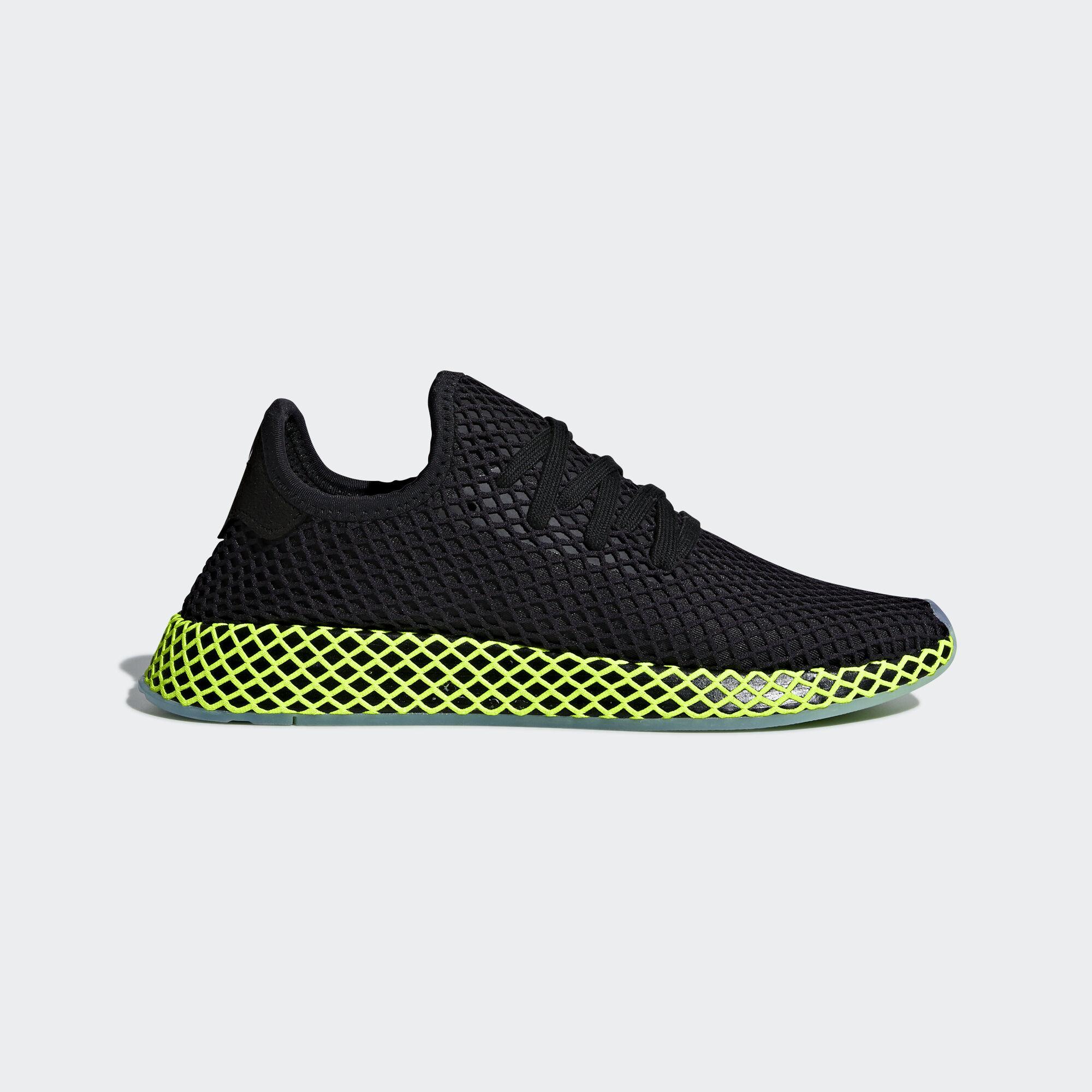 adidas schuhe, schwarze adidas - regionale deerupt läufer