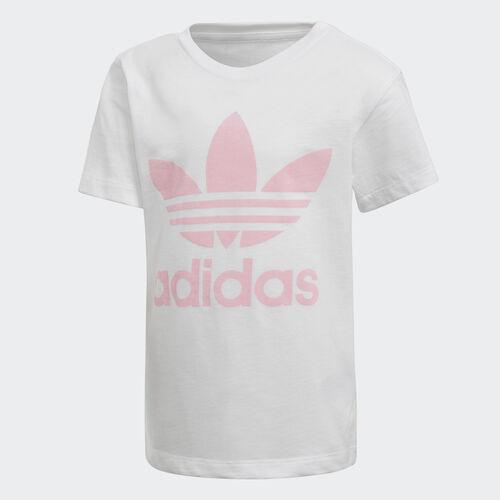 adidas - Trefoil Tee White / Light Pink DH2464