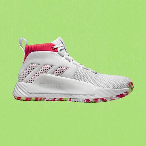 adidas - Dame 5 Shoes Ftwr White / Shock Red / Crystal White BB9312