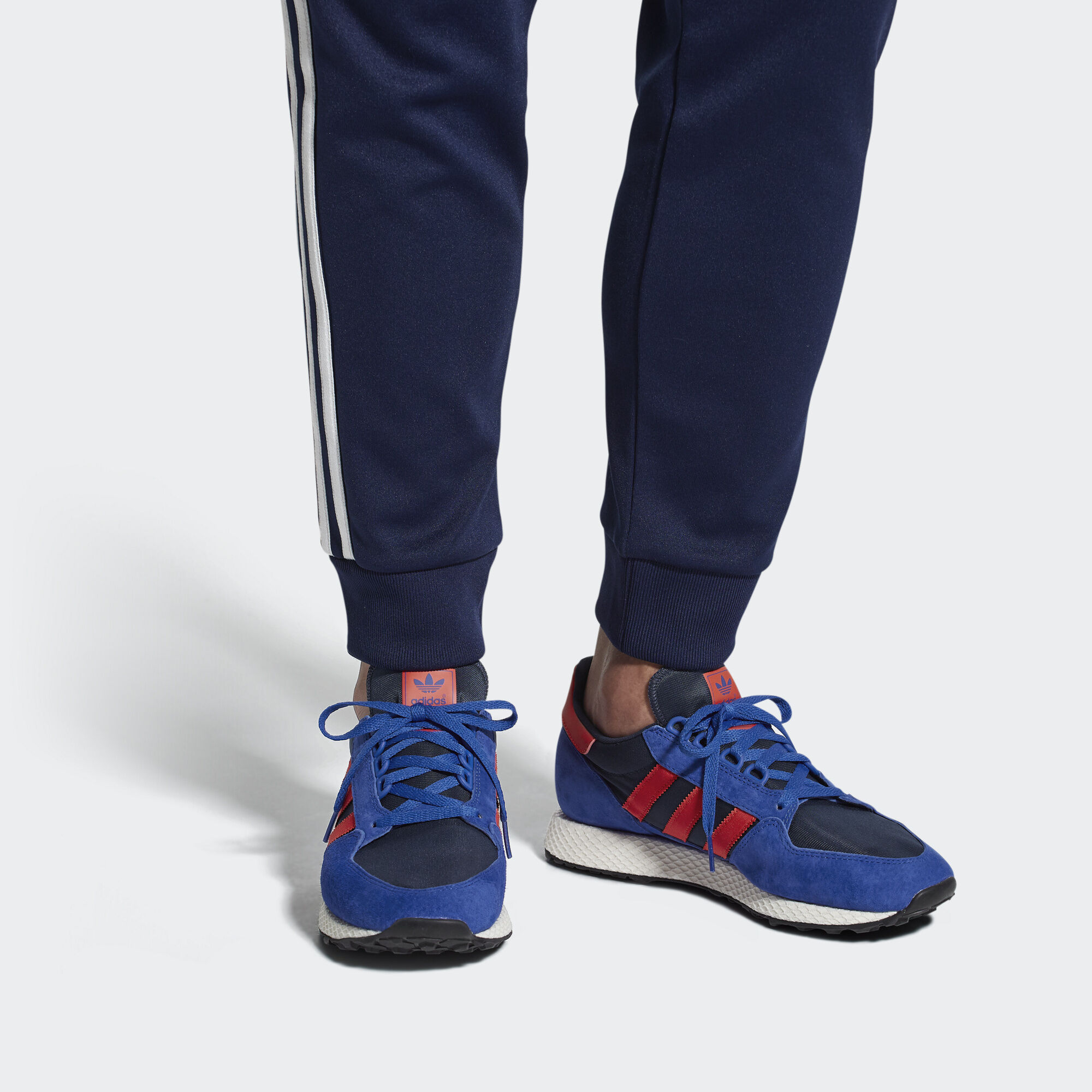 check out adb2f ad53a adidas Forest Grove Shoes - Blue  adidas UK