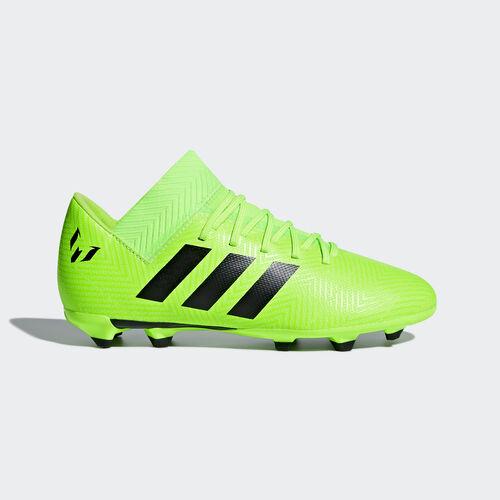 adidas - Nemeziz Messi 18.3 Firm Ground Boots Solar Green / Core Black / Solar Green DB2367