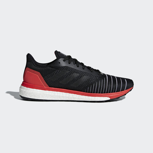 adidas - Solar Drive Shoes Core Black / Core Black / Hi-Res Red AC8134