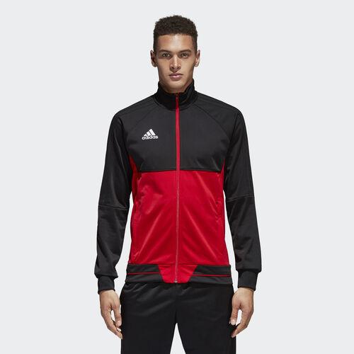 adidas - Tiro 17 Training Jacket Black/Scarlet/White BQ2596
