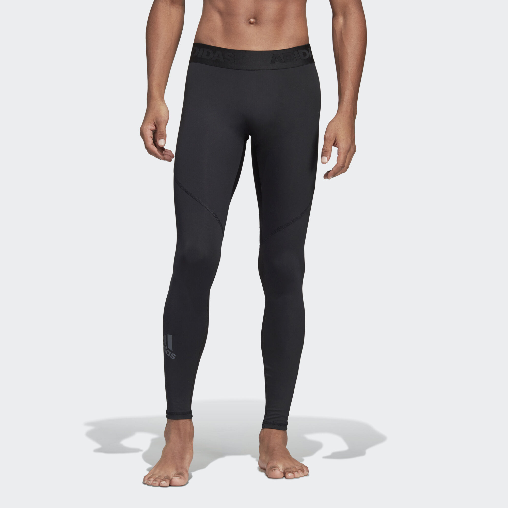 adidas - Alphaskin Sport Long Tights Black CF7339. Men Training