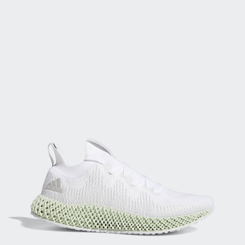 Obuv Alphaedge 4D, , zoom, (Ftwr White / Grey Two / Linen Green), 28 březen