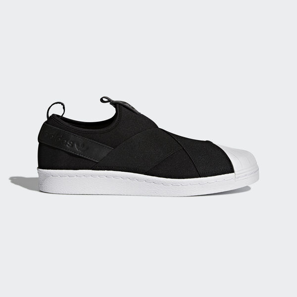 Sapatos Superstar Slip-on Preto BZ0112