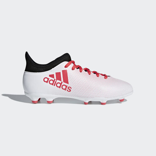 adidas - X 17.3 Firm Ground Boots Grey/Real Coral/Core Black CP8991